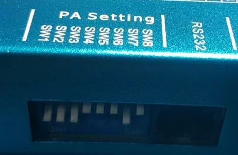 motor de passo com HBS860H - pa settings