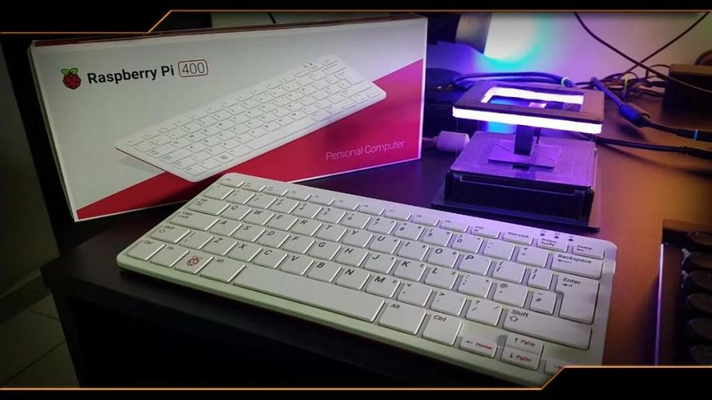 Raspberry Pi 400 | Cedilha no Raspberry