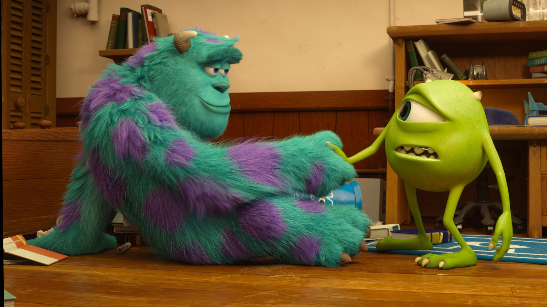 Monsters University 3d Blu Ray Review