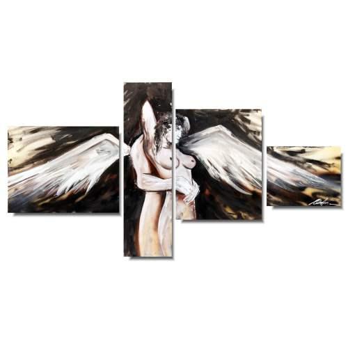 akt obraz anielscy kochankowie