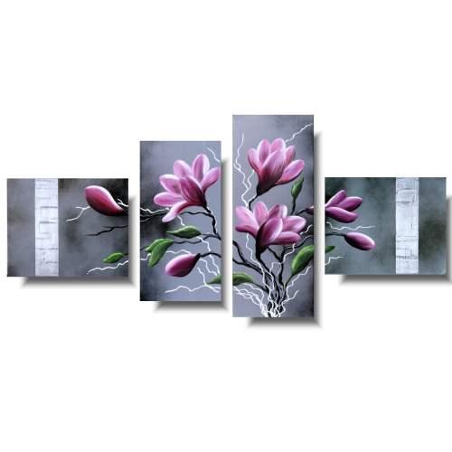 Obraz różowa magnolia