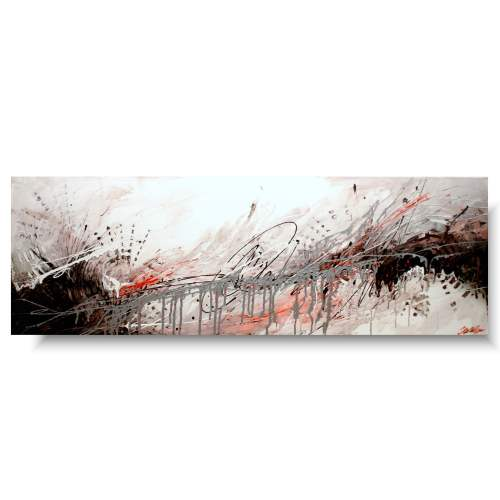 Obraz malowany abstrakcja