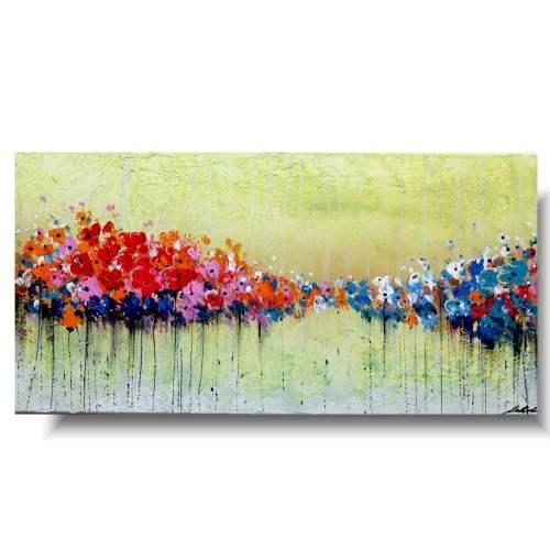 Obrazy kwiaty kolorowe kwiatuszki
