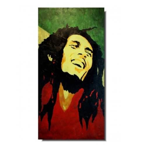 portrety znanych osób bob marley