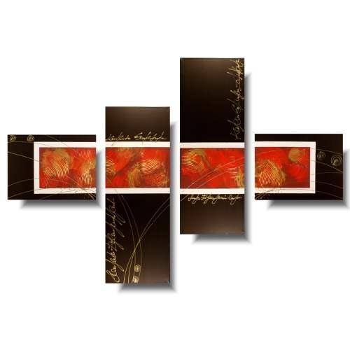 Obraz akrylowy czerwona elegancja