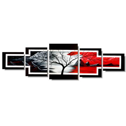 Obraz dzielony drzewo