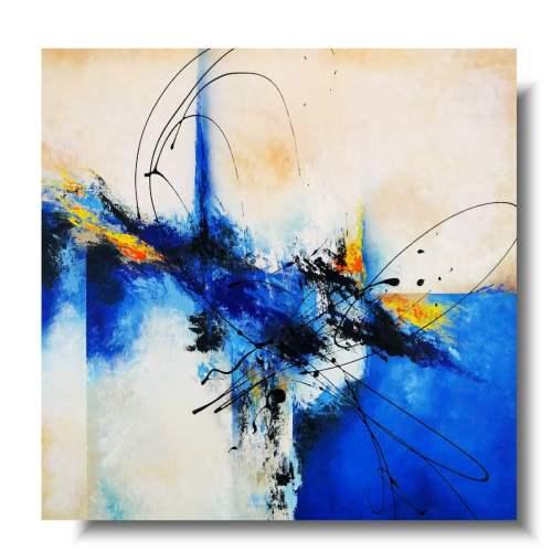Abstrakcja kwadratowy obraz