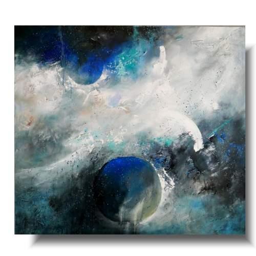 Duży obraz abstrakcja spokój kosmosu