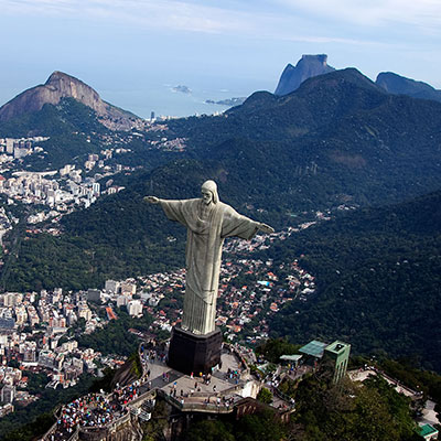 rio car service full day city tour 8 hours