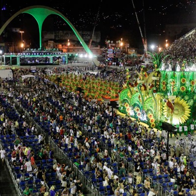 Rio Carnival Sector 13 Open Front Box Frisa Ticket