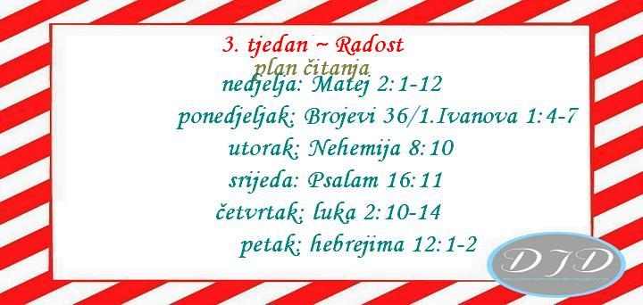 advent-plan čitanja - radost