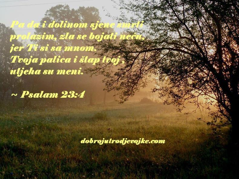 Psalam 23-4