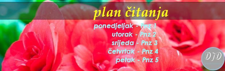 plan čitanja - 1-5