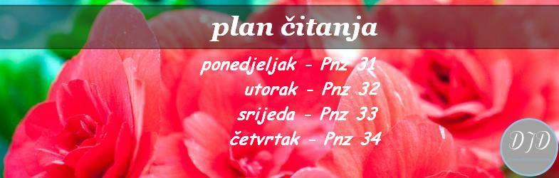 plan ćitanja - 31 - 34