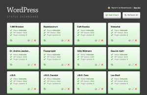 Wordpress Status Dashboard