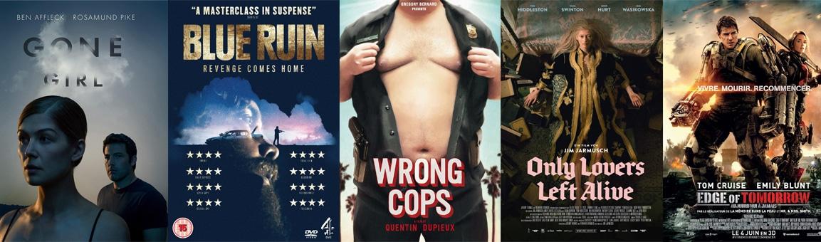 top 5 des films de l'année