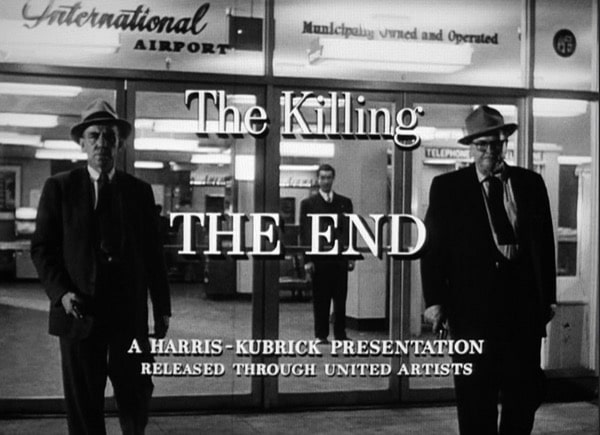 The Killing, Stanley Kubrick, 1956