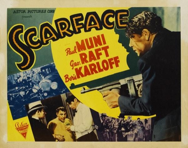 Poster - Scarface (1932) Howard Hawks