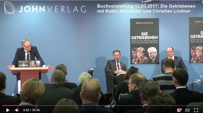 Buchvorstellung: Die Getriebenen. Merkel und die Flüchtlingspolitik 13.03.17 Flüchtlingskrise