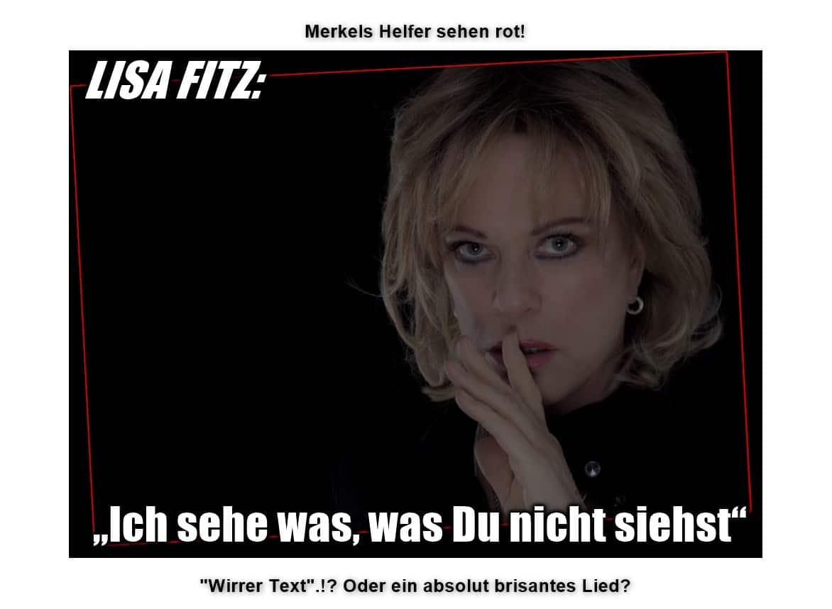 [ Lisa Fitz! } Neues brisantes HAMMER- LIED erschüttert die Medien!