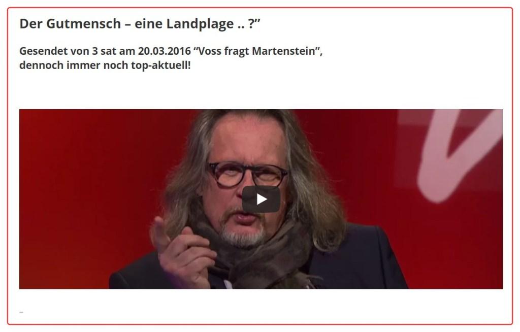 """""""Voss fragt Martenstein"""" / 3SAT"""