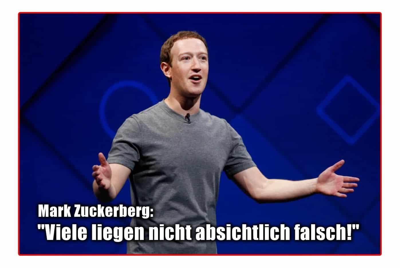 [ Holocaust! } Mark Zuckerberg lässt Zweifler gewähren!