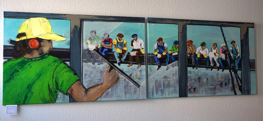 Kunst im Praxis-Foyer