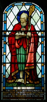 Image result for saint nicholas stained glass images