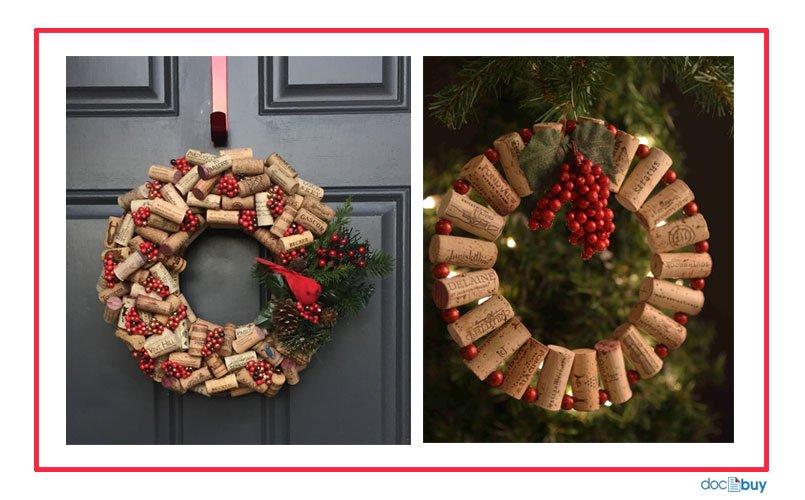 decorazioni natalizie ghirlanda