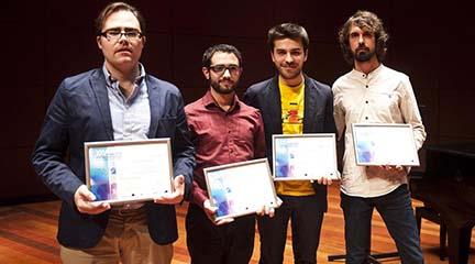 premios  Óscar Escudero gana el XXVI Premio Jóvenes Compositores Fundación SGAE CNDM 2015