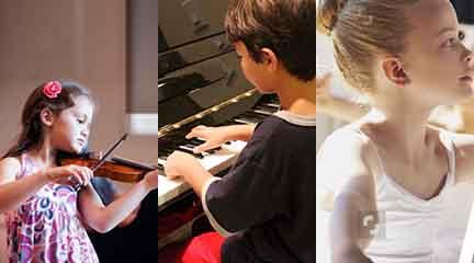 cursos de verano  Forum Kids. Campamento de música y danza