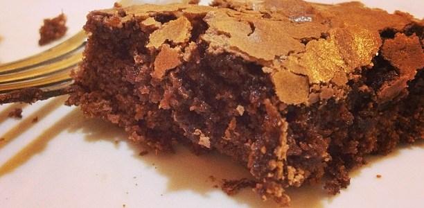brownie que dá sempre certo