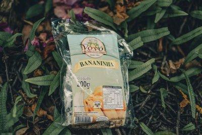 O sabor original doce bananinha
