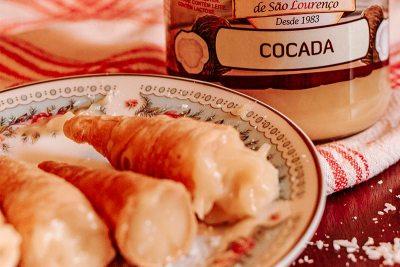 Deliciosa receita de doce com coco