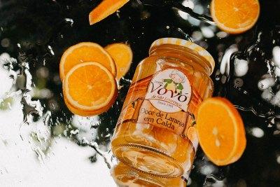 Doce perfeito, sabor puro da fruta
