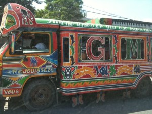 A bus in Haiti - copyright docgurley 2010
