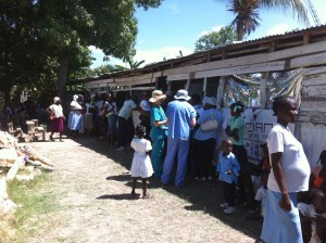 Clinic in a rural area near Gonaives