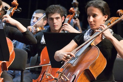 Young Palestinian musicians