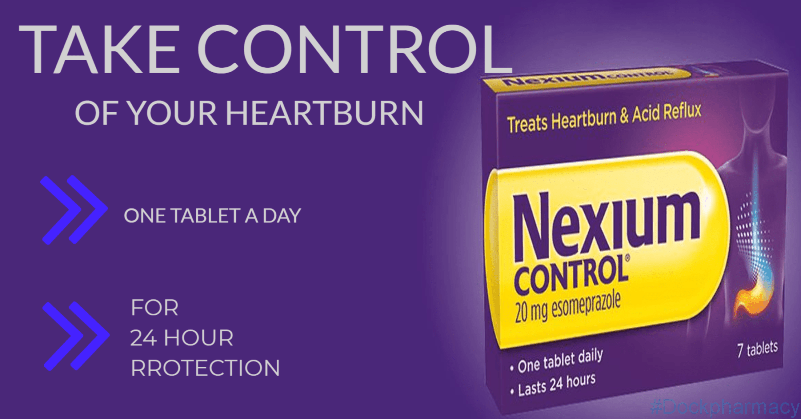 nexium once a day for heartburn