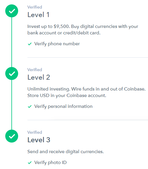 buy ethereum coinbase id verification