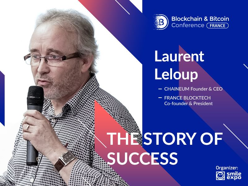 The President at France Blocktech Describes His Way to Success