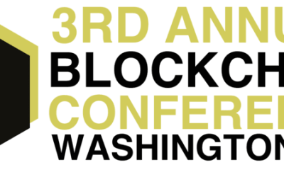 The 3rd Annual Blockchain Conference in Washington DC is Coming Up