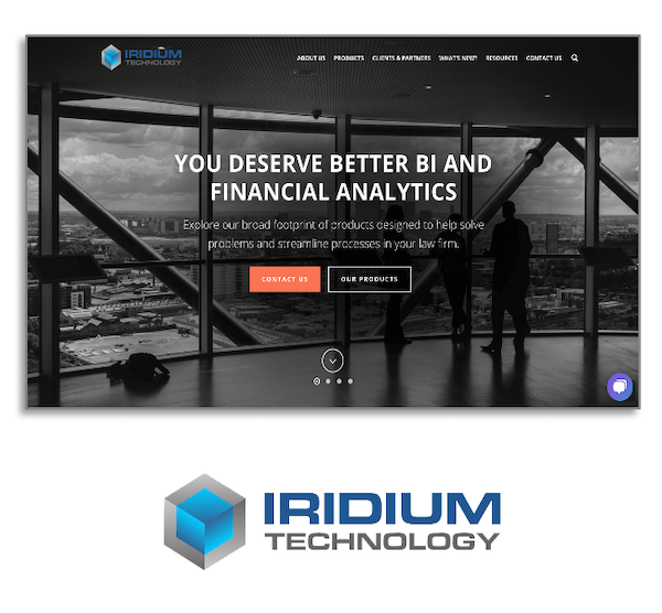Iridium Technology Website