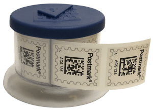 DocSolid Postmark Stamp Dispenser for Airmail2 Digital Mailroom