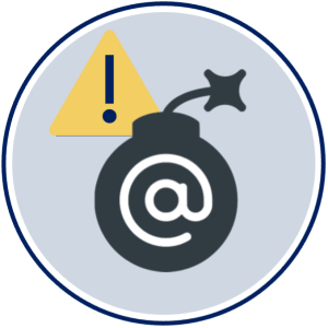 Email Danger Icon