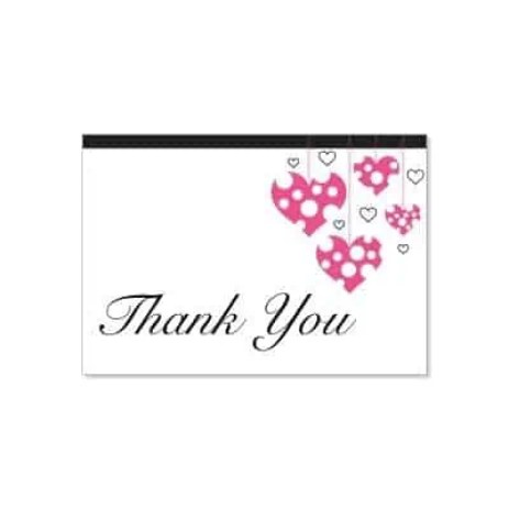 Thank you card Template 49741