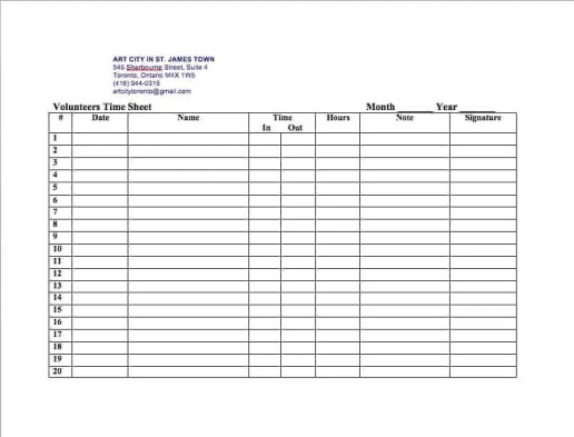 Top  Free Time Sheet Templates  Word Templates Excel Templates
