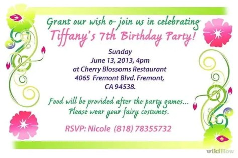Birthday invitation Templates 541