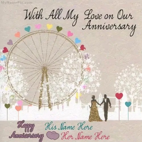 anniversary card template 48741