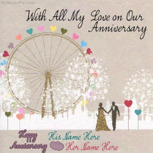 Top  Layouts For Free Anniversary Card Templates  Word Templates